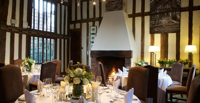 The Swan at Lavenham - Private Dining Room
