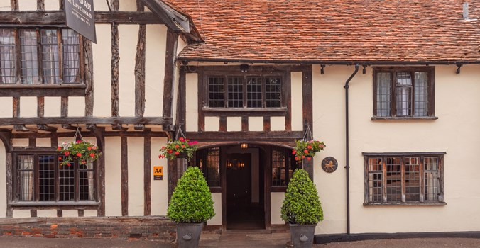 The Swan at Lavenham Exterior